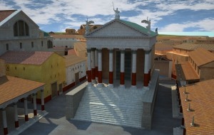 Temple of Rome and Augustus